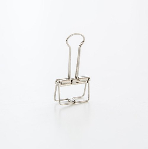 Binder Clips Silver Simple Hollow Clip / S
