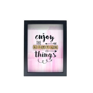 Scrabble Wall Art - Little Things