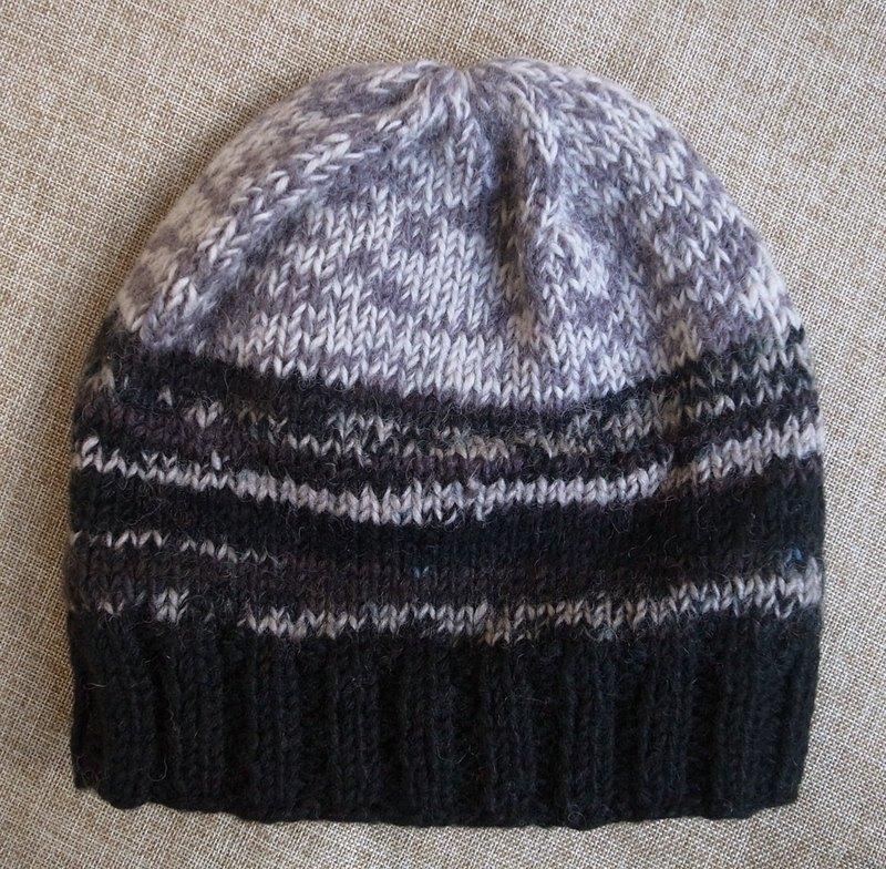 4b191b2c5eb Handmade Hand Knit Wool Beanie Hat