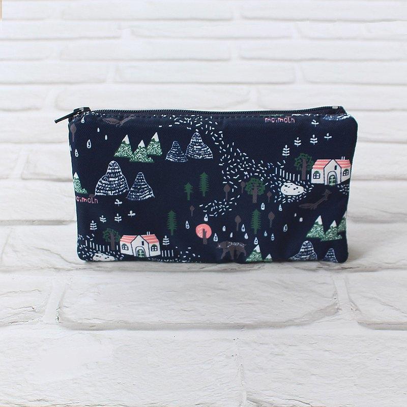 動物森林防水三層零錢包(附手腕帶) / 收納袋 錢包