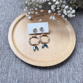 Painless aluminum wire ear clip - small cute