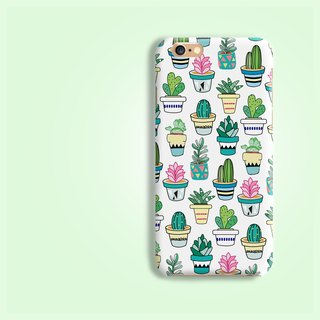 Cactus succulent Matt hard phone case  iPhone X 8 8 plus 7 7+ Sony Xperia Xz Z5