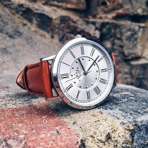 Camden Watch | NO27 Series Pure British Lineage British Roman Digital Leather Watch