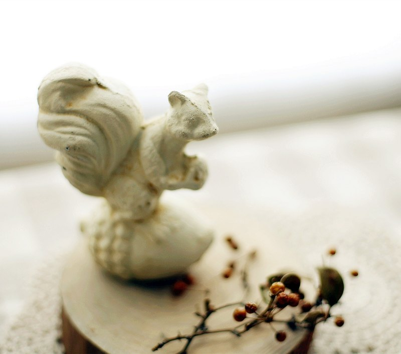 【Good day fetus】 Japan zakka imitation squirrel ornaments