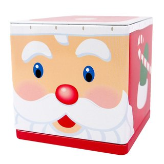 Christmas tin storage box - Santa Claus [Hallmark-Gift Christmas Series]