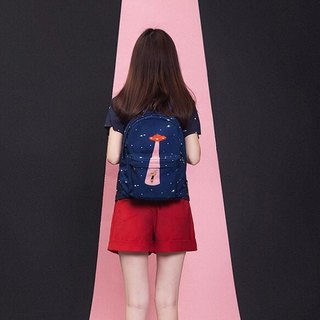 YIZISTORE Star Series Backpack Backpack Backpack - UFO