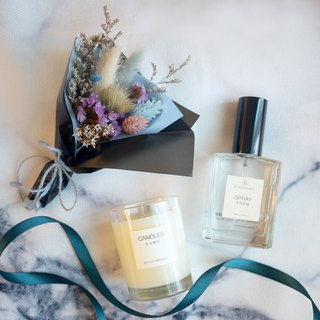 Warming fragrance spray gift box / three-piece group