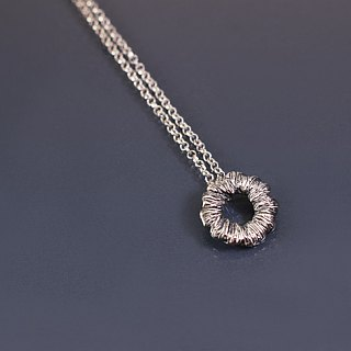 Small wreath 925 pendant chain