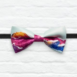 Style 0315 Printed Bowtie - Modern Boys Bowtie, Toddler Bowtie Toddler Bow tie, Groomsmen bow tie, Pre Tied and Adjustable Novioshk