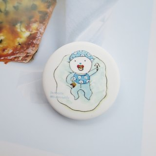 Children's Day when the child bear brooch