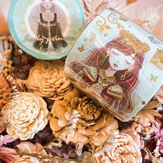 Princess Lady Bronzing Paper Tape