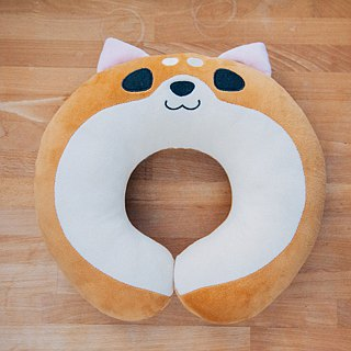 Millet Shiba dog neck pillow