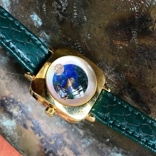 【Lost And Find】Natural stone galaxy earth watch