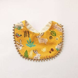 Organic Cotton Bib / Rabbits