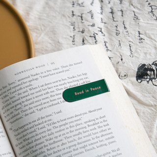 Magnet Bookmark - Read in Peace