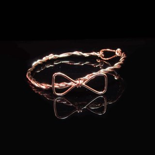 Winwing metal braided bracelet - [bow]
