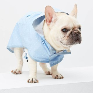 High quality long version of hooded waterproof pet clothes - wide version