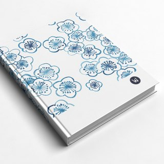 ☆ ° Rococo Strawberries WELKIN Hand Handle Handbook / Notebook / Handbook / Diary - Blue Cherry Graduation Gift