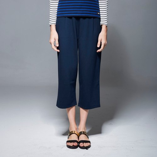 Rate casual pocket elastic wide pants