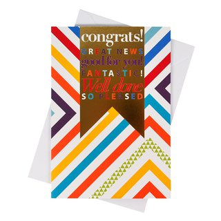 You are great! Well done! [Hallmark- Card Congratulations to Congratulations]