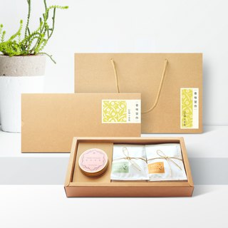 [Flavours] Water First X Hill Unbeaten ‧ Essential Oil Candle + Integrated Tea Bag Gift Box