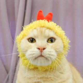 Deep fried shrimp tempura pet cat dog hat headdress * S number