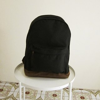 Goody bag canvas back pack - large (not black carbon black / cocoa)