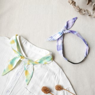 Goody Bag - Neckband Headband 1+1 Original price 645 Optional 2 piece discount group plus bouquet card