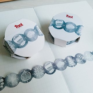 [TooL] Curved paper tape ‧ tree gray Tree Gray / GTIN : 4713077972984