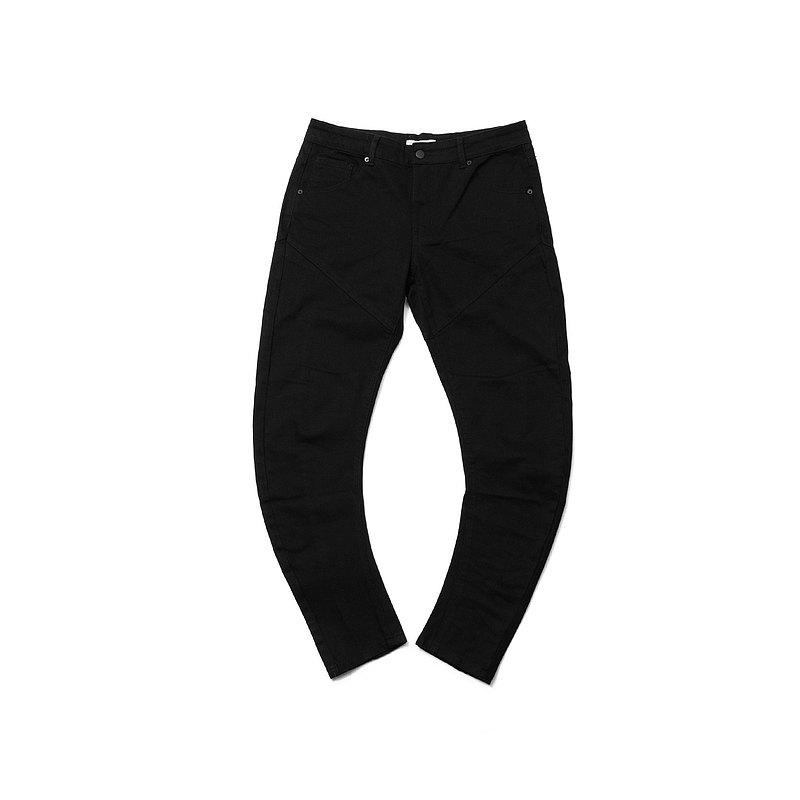 【ionism】繭型牛仔褲黑