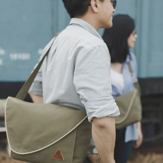 Olive Color Medium Size Water Repellent Camera Bag :Wanderlust Collection