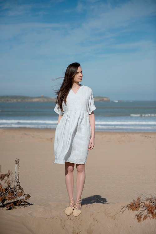 Linen Dress Motumo 16S5