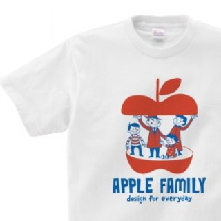 APPLE FAMILY WM - WL • S - XL T - shirt 【Custom order】
