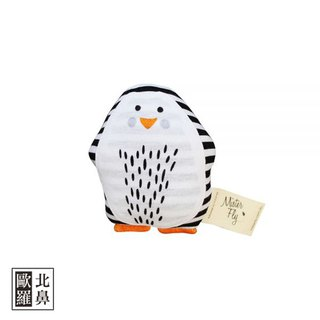 Mister Fly Animals Comfort Hand Rattle - Penguin