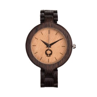 Plantwear - GLAMOUR SERIES – LADIES WENGE WOOD TIMBER WRIST WATCH