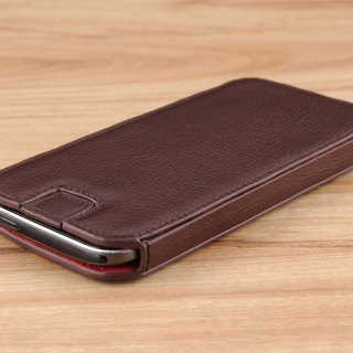 STORYLEATHER made (APPLE iPhone series) Style E4 glasses case with a holster