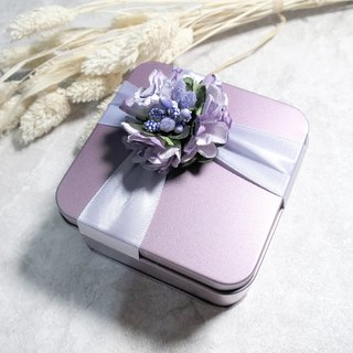 VIIART. Colorful flower gift box packaging. Plus purchase goods - exchange gifts romantic gift box packaging