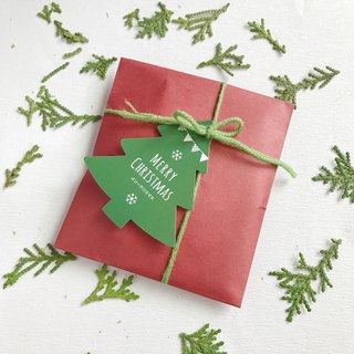 11/15~12/25 Free Christmas packaging without adding Christmas card bookmarks