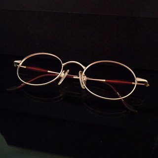 Monroe Optical Shop / Japan 90s Antique Eyeglasses Frame M07 vintage
