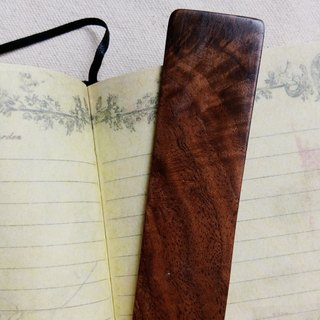 ◤PITAYA◢ wood bookmark / walnut / Wen Qing