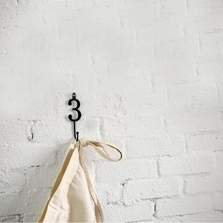 Dailylike Digital Style Hooks (single in) - Number 3, E2D35048