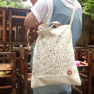 Canvas Bag / The Crowd