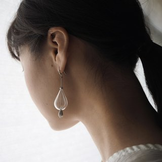 No.89 The Dreamy Bubble Earrings 美夢泡泡琉璃耳飾