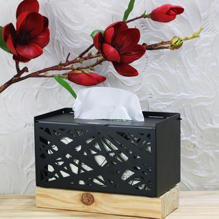 [OPUS Dongqi Metalworking] Fangchao - Metal Carton (Black) / Hotel Design / Home Decor