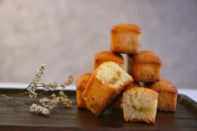 柚子磅蛋糕・手作 DIY 甜點・創意烘焙手作・平板教學・一人成班