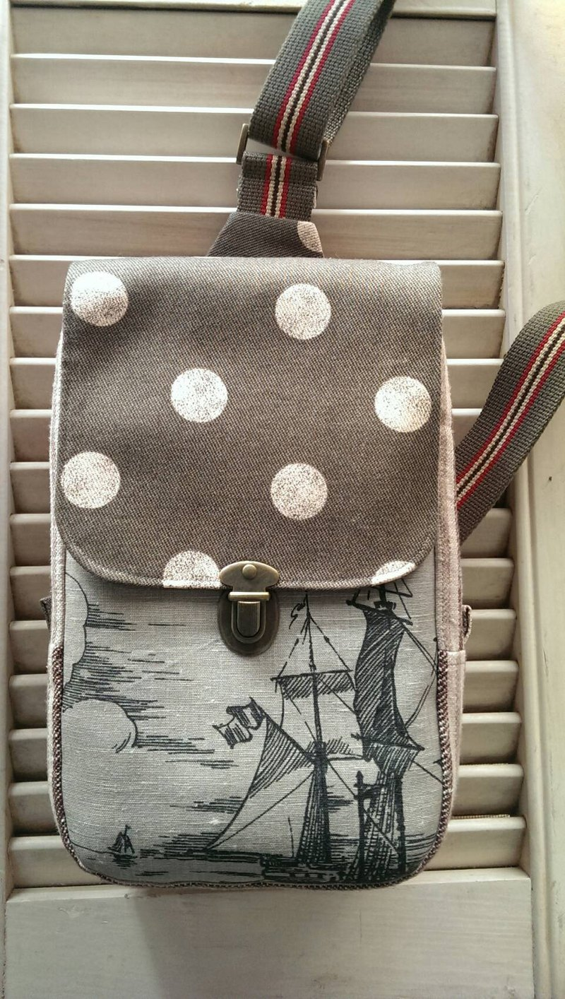 Shoulder Messenger bag ~ sailing
