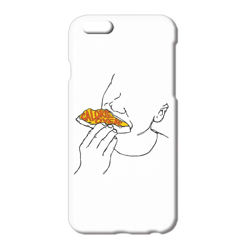 iPhone ケース / Calorie over 2 / pizza
