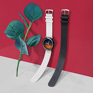 Illustrator watch plus watch strap gift box [optional black, gray, blue strap]