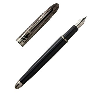ARTEX Half-Width Edition Fountain Pen - Piano Key / Black