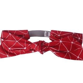 Headband Sevina Red France Summer Hairband